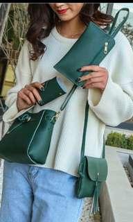 4 in 1 cute sling bag