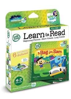 🚚 BN Leapstart 3D Learn to Read Bookset Vol 1