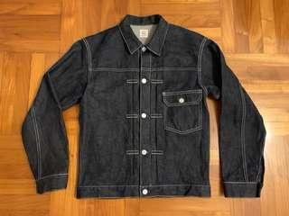 日本制 JP FAT Classic Unwashed Jeans shirt 褸 Levi's nike