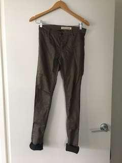 $10 SALE Country Road Khaki skinny jeans - Sz 4 (AU 6)