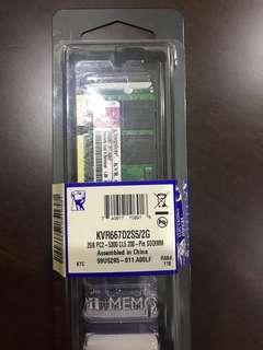 SDRam Notebook Laptop 2GB