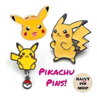 Pikachu Enamel Pins - Pokemon pins