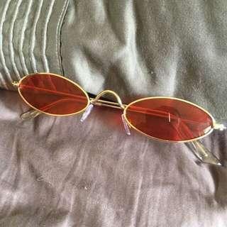 Red Festival Glasses