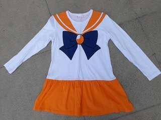 Salior Moon (Sailor Venus) Short Dress (unused)