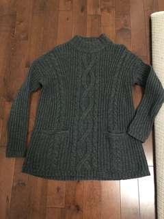 Mock neck sweater from Abercrombie&Finch