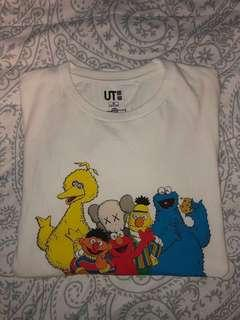 Uniqlo x Kaws Sesame Street Graphic T-Shirt
