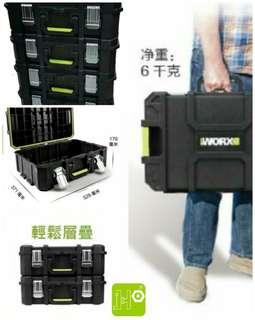 WORX 20吋層疊防水工具箱