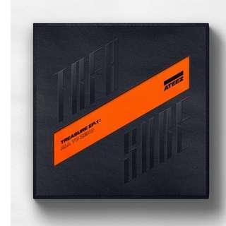 ATEEZ Mini Album - Treasure Ep.1: All To Zero