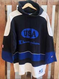 Vintage authentic champion hoodie