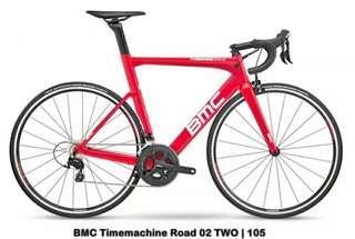 BMC Timemachine bike size 48 and 51