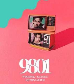 Wooseok x Kuanlin 1St Mini Album 9081