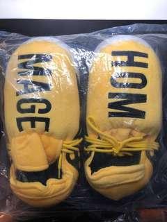 Pharrell Adidas NMD Human Race Yellow Slippers