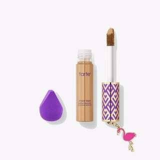 🚚 TARTE Shape Tape Concealer & Mini Sponge Set