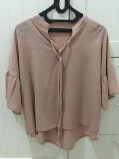 Dusty pink top