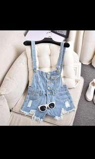 Denim Dungaree overall
