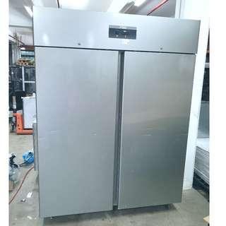 SS 2 Full Door Upright Refrigerator