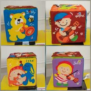 Award winner-K's Kids listen clap & sing (interactive musical cube toy)