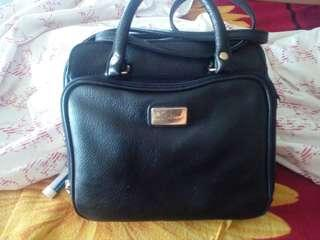 Authentic Leather Black Sling Bag