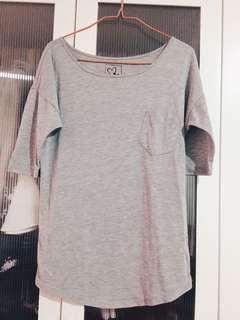 P&Co grey top