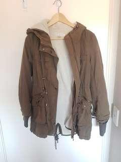 Forever New size 6 khaki jacket