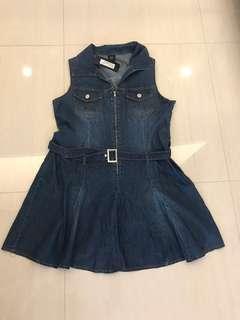 🚚 Bnwt Bega Denim Dress - Fits L XL XXL UK12 UK14 UK16 US12 US14 Plus Size