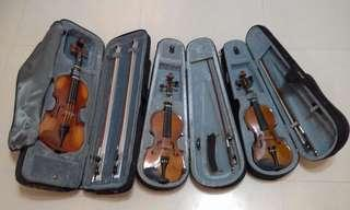 Child sized Synwin violins