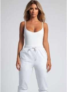Meshki Delilah Slinky Jersey Strappy Bodysuit