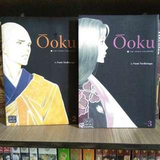 Ooku Volumes 2 and 3