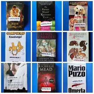 3 FOR ₱100 BOOKS