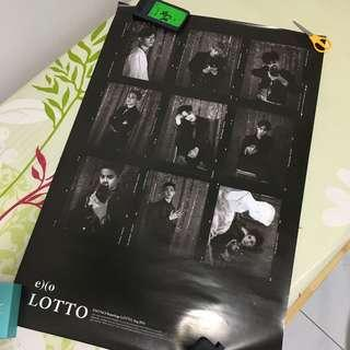 EXO LOTTO OFFICIAL POSTER