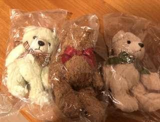 Crabtree and Evelyn Teddy bear 公仔