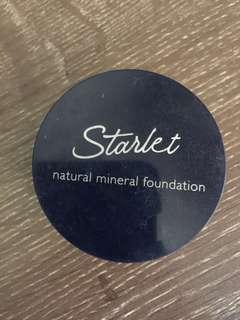 Starlet mineral foundation