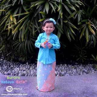 Aurora kebaya batik free postage