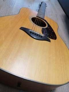 YAMAHA Acoustic guitar (FG700MS)