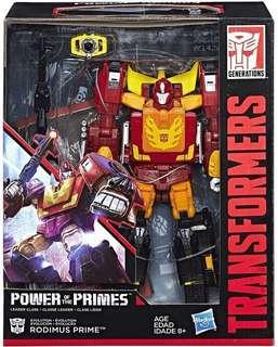 Transformers power of the prime Rodimus prime new
