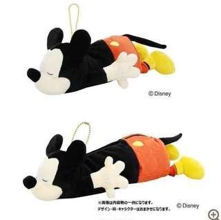 🚚 日本代購🇯🇵 迪士尼 Disney 米奇 米老鼠 玩偶票卡夾
