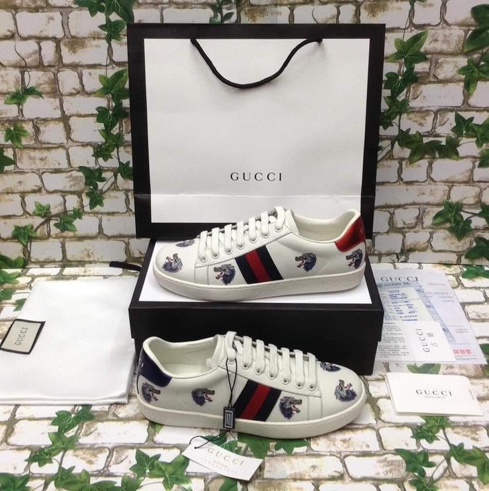 dbf7d85e5 100% authentic Gucci Sneaker, Men's Fashion, Footwear, Sneakers on ...
