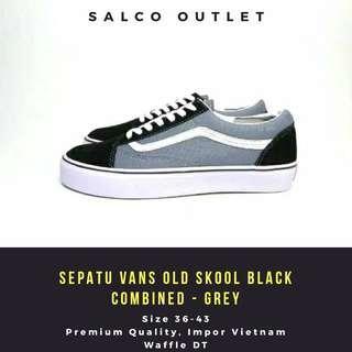 Sepatu Vans Old Skool Black Combined Based On Color