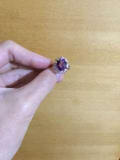 🚚 紫水晶戒指