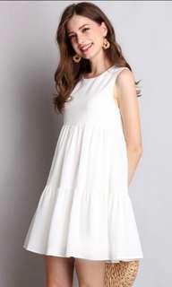 🚚 Lily Pirates White Dress