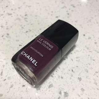 Chanel 指甲油 provocation