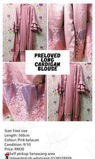 Long Dress Cardigan