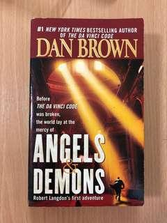 Dan Brown novel (Angels and Demons)