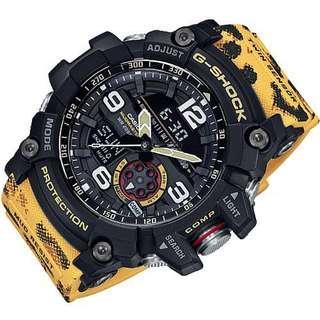 Casio Gshock Mudmaster Wildlife Leopard GG1000WLP GG1000 Twin Sensor with FREE DELIVERY 📦 G-Shock