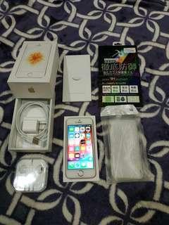 iPhone SE 128G rose gold