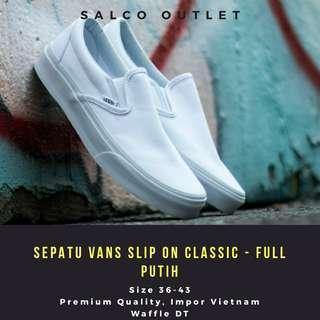 Sepatu Vans Slip On Classic Based On Color