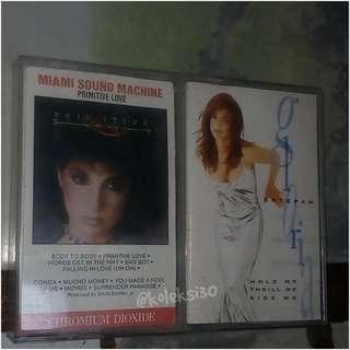 Miami sound machine, gloria estefan (kaset)