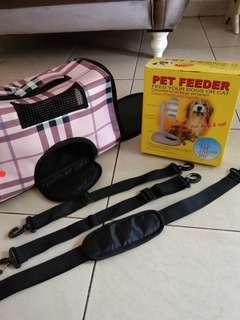 Paket tas dog+tempat mak, minuman