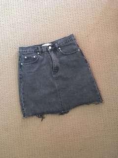 Assembly Label denim skirt