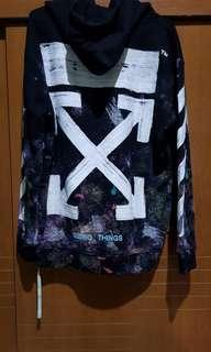 Offwhite galaxy hoodie GOD version